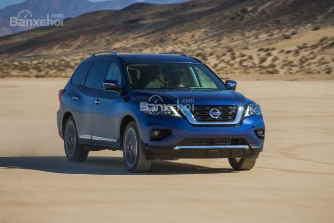 Đánh giá xe Nissan Pathfinder 2018 về cảm giác lái 1a