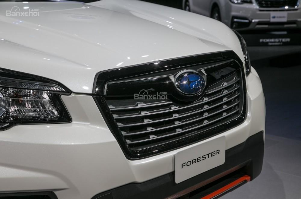 Đánh giá xe Subaru Forester 2019: Lưới tản nhiệt.