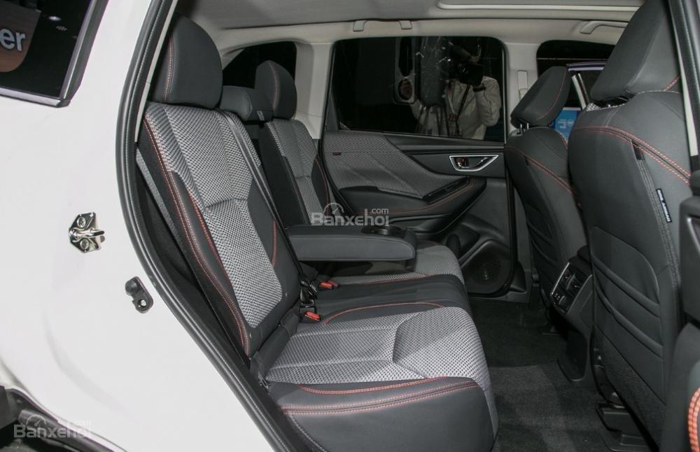 Đánh giá xe Subaru Forester 2019: Hàng ghế sau.