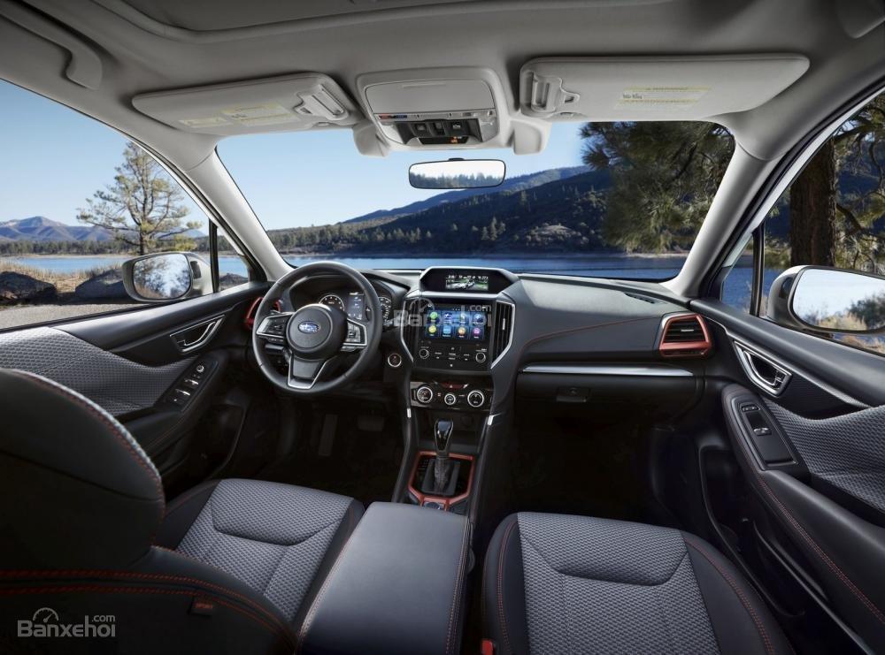 Đánh giá xe Subaru Forester 2019: Xe được trang bị nhiều tiện nghi.