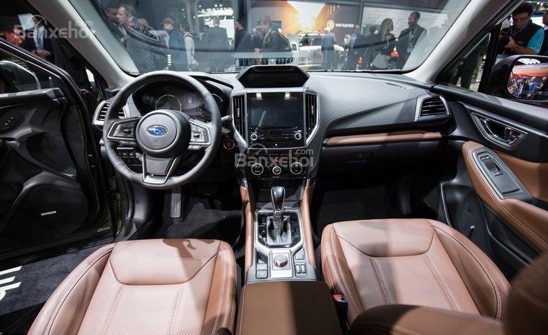 Đánh giá xe Subaru Forester 2019: Nội thất.