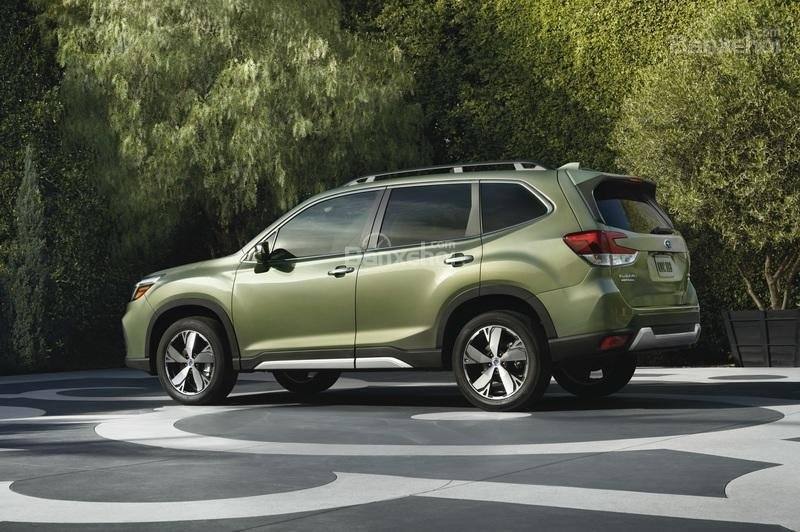 Đánh giá xe Subaru Forester 2019: Thân xe.