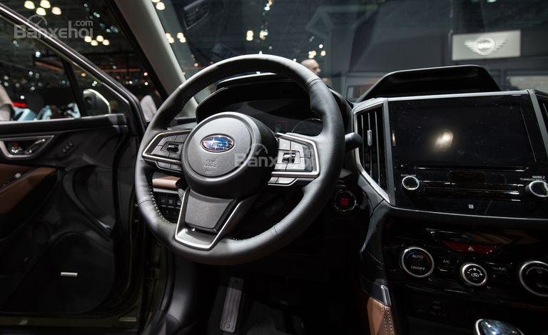 Đánh giá xe Subaru Forester 2019: Vô lăng.