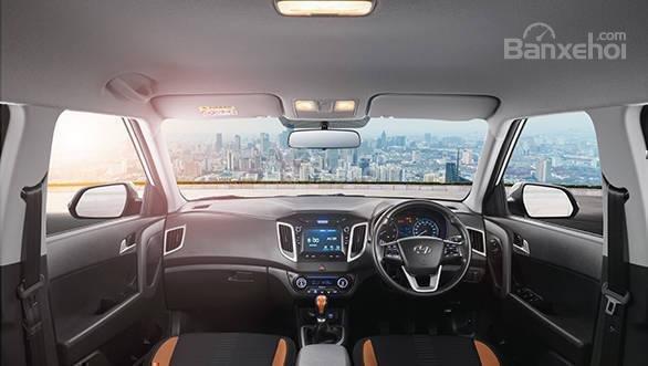 Đánh giá xe Hyundai Creta 2018: Nội thất mang lại cảm giác cao cấp hơn các đối thủ z