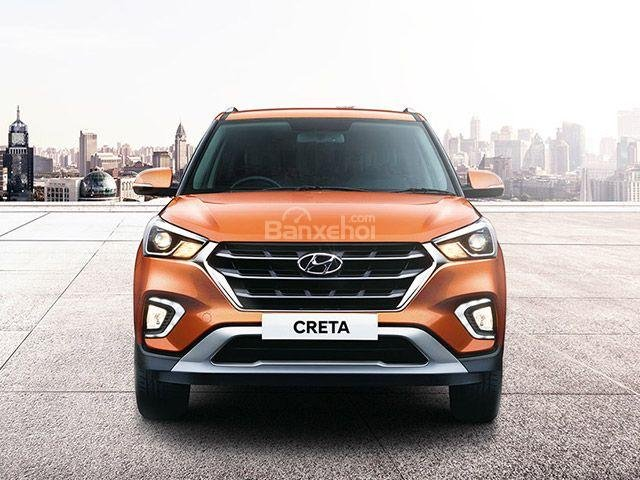 Đánh giá xe Hyundai Creta 2018: Lưới tản nhiệt khá giống Xcent z