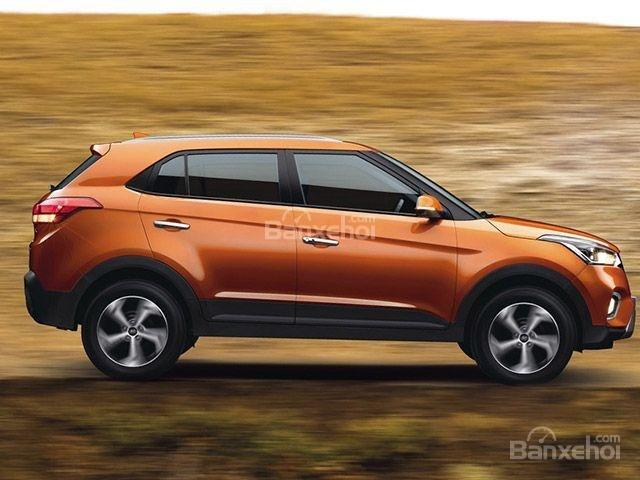 Đánh giá xe Hyundai Creta 2018: Tùy chọn màu cam ngoại thất mới z