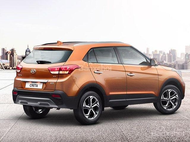 Đánh giá xe Hyundai Creta 2018: Đuôi xe có thiết kế quen thuộc z