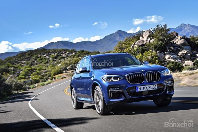 BMW X3 2018 chào Hè với động cơ mới công suất 326 mã lực z