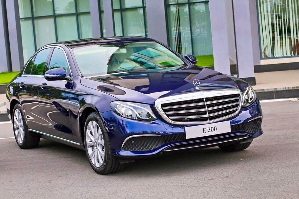 Đánh giá xe Mercedes-Benz E200 2018 giá 2,099 tỷ đồng tại Việt Nam