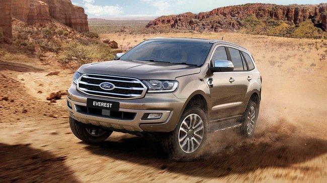 Ford Everest 2018 mới bán ra thị trường Việt vào tháng 9 tới có giá tạm tính từ 900 triệu.