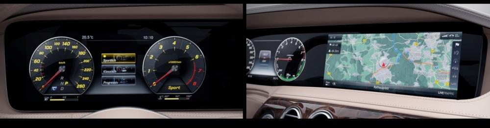 Đánh giá xe Mercedes-Benz S 450L 2018 về trang bị nội thất 1