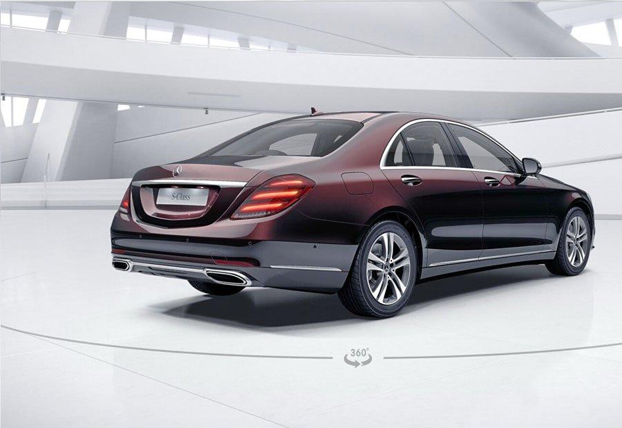 Đánh giá xe Mercedes-Benz S 450L 2018 về thiết kế thân xe.