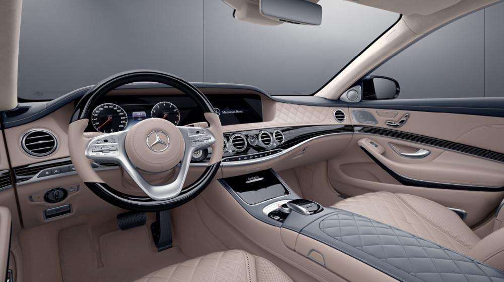 Đánh giá xe Mercedes-Benz S 450L 2018 về khoang nội thất ,