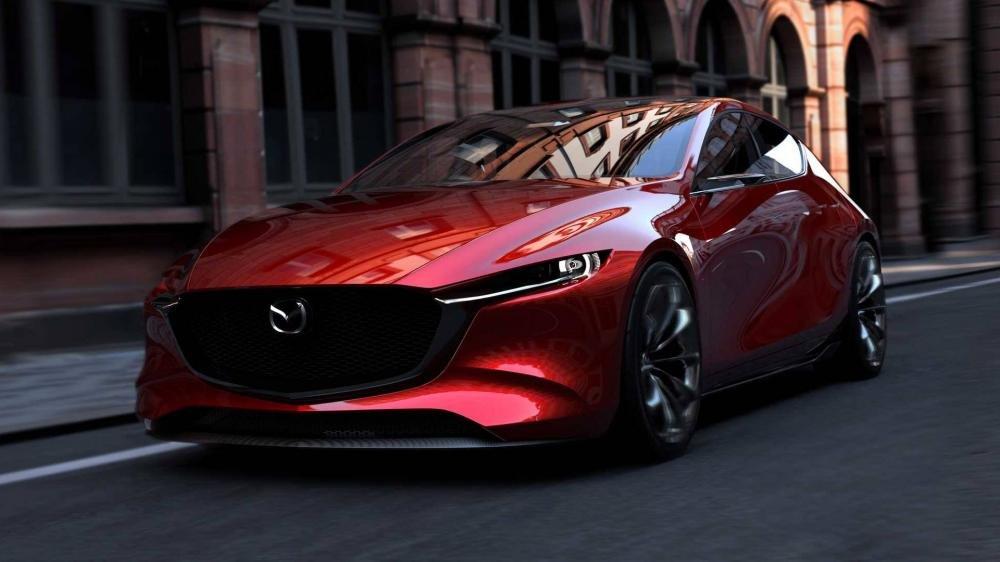 Mazda KAI Concept - Bản xem trước của Mazda 3 thế hệ tiếp theo a1