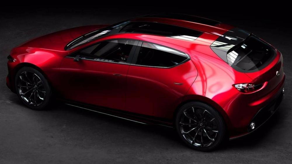 Mazda KAI Concept - Bản xem trước của Mazda 3 thế hệ tiếp theo a2