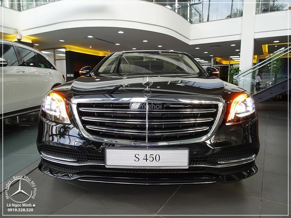 Bán Mercedes Benz S450L new model 2019 - KM đặc biệt trong tháng - Xe giao ngay - LH: 0919 528 520-1