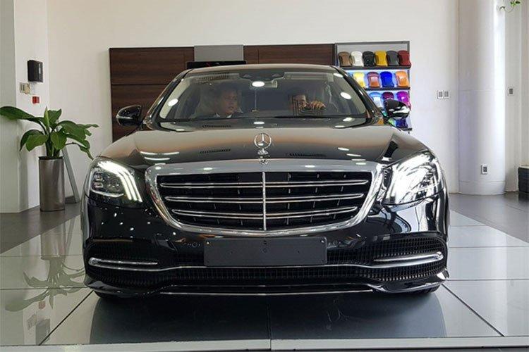 Cận cảnh Mercedes-Benz S450 L 2018 giá 4,19 tỷ đồng tại đại lý, chờ ngày mở bán a3