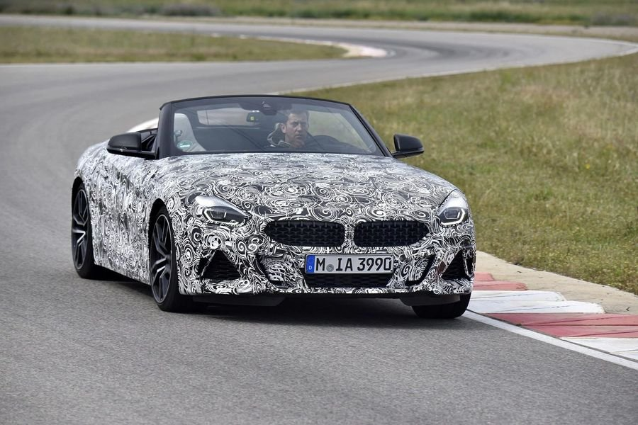 BMW Z4 M40i 2018 lộ diện trên đường thử, đây sẽ là chiếc roadster thuần chủng a1