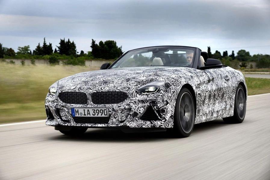 BMW Z4 M40i 2018 lộ diện trong bộ dạng roadster thuần chủng a2