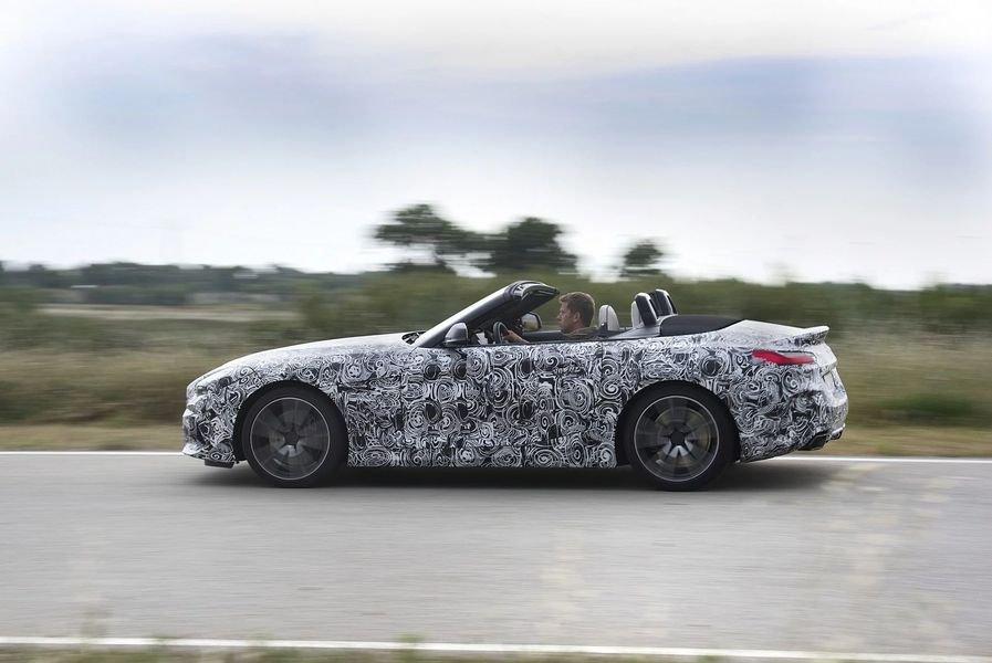 BMW Z4 M40i 2018 lộ diện trong bộ dạng roadster thuần chủng a9