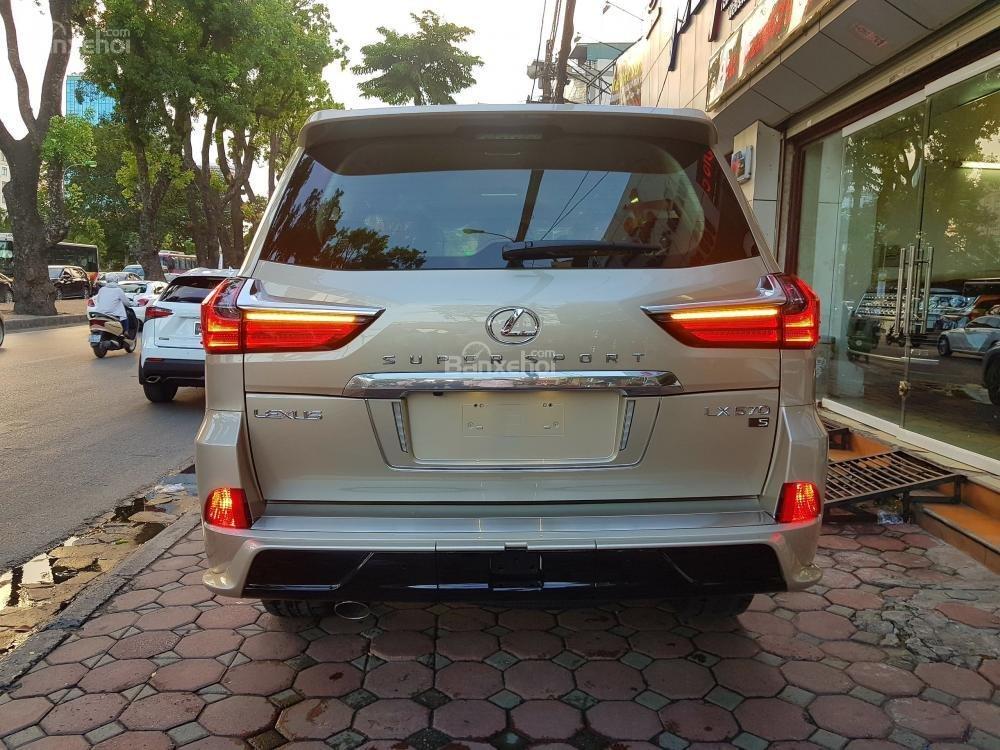 Bán xe Lexus LX Supersport sản xuấT 2018, màu vàng cát, nhập khẩu nguyên chiếc LH: 0982.842838-3