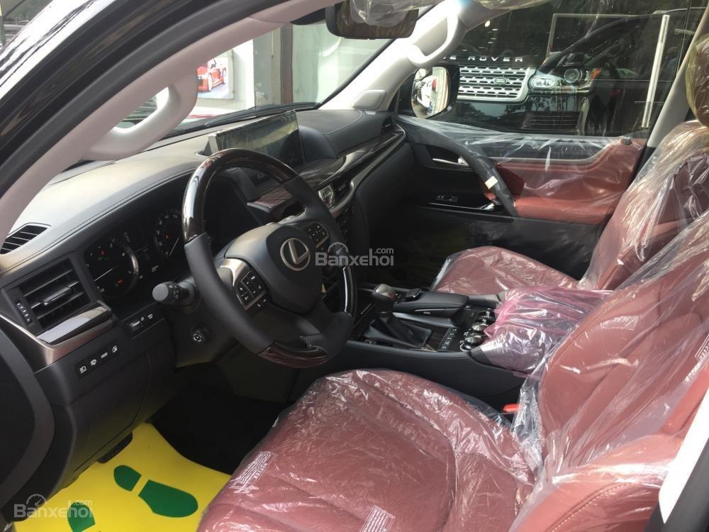 Bán ô tô Lexus LX 570 sản xuất năm 2018, màu đen, nhập khẩu Mỹ nguyên chiếc-7