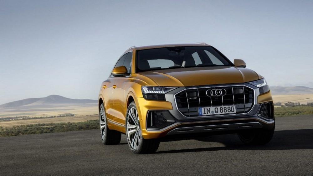 Hé lộ hình ảnh Audi Q8 2019 trước thềm ra mắt