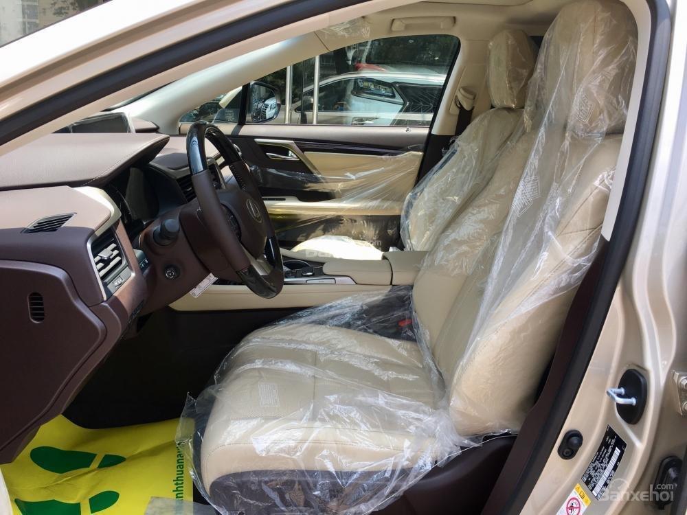 Bán ô tô Lexus RX 350L năm sản xuất 2018, màu vàng, nhập khẩu Mỹ-6