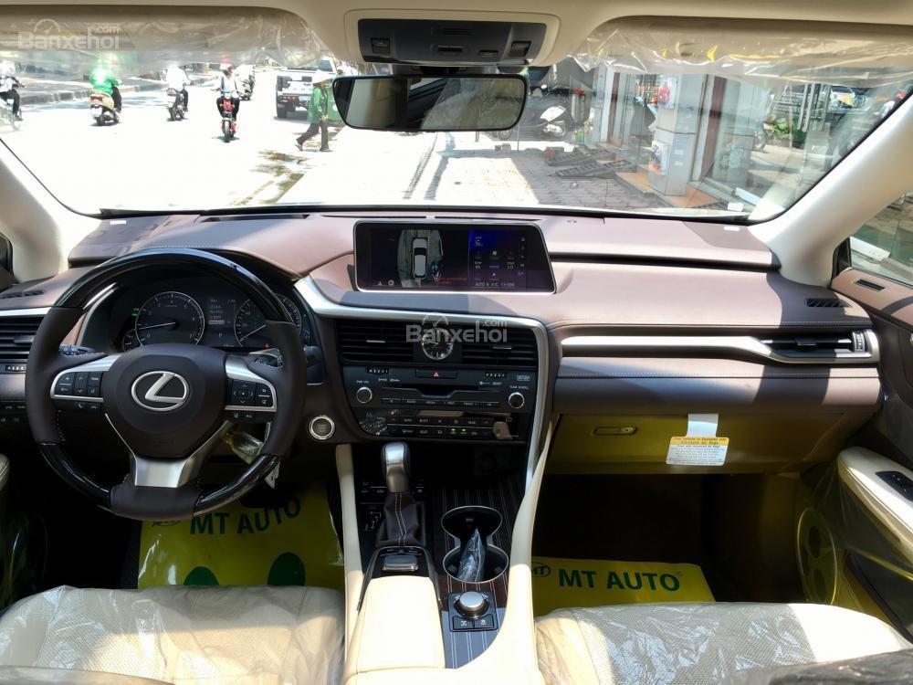 Bán ô tô Lexus RX 350L năm sản xuất 2018, màu vàng, nhập khẩu Mỹ-12
