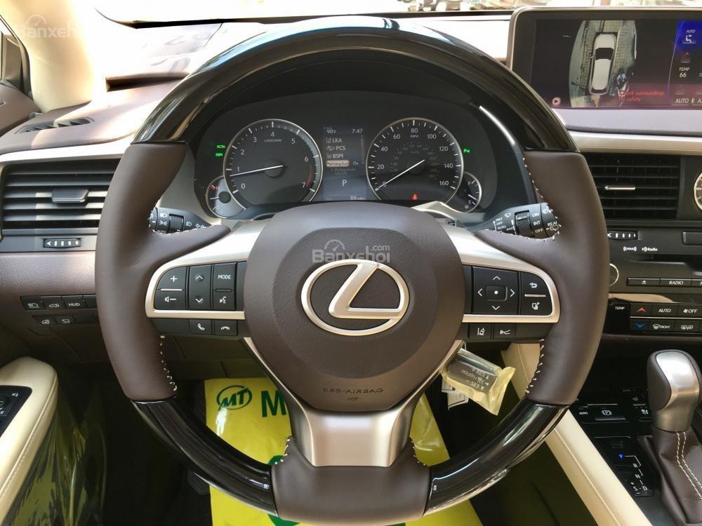 Bán ô tô Lexus RX 350L năm sản xuất 2018, màu vàng, nhập khẩu Mỹ-18