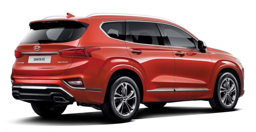 Chi tiết Hyundai Santa Fe Inspiration bản đặc biệt giá từ 759 triệu đồng tại Hàn Quốc a4