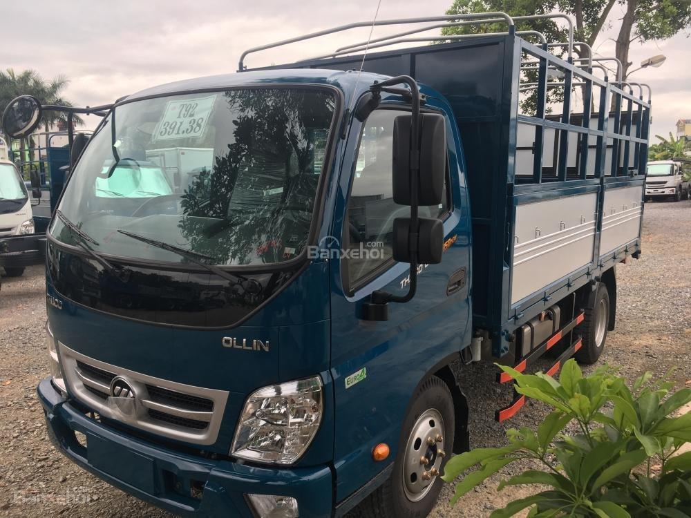 Liên hệ 096.96.44.128, cần bán xe Thaco Ollin 350 - E4 đời 2018, màu xanh dương-0
