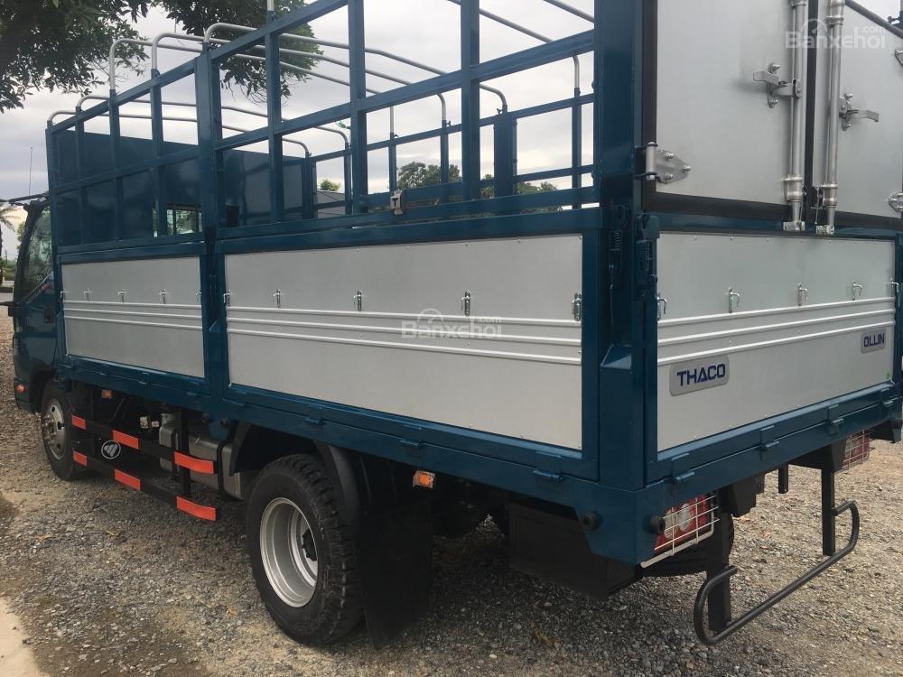 Liên hệ 096.96.44.128, cần bán xe Thaco Ollin 350 - E4 đời 2018, màu xanh dương-2