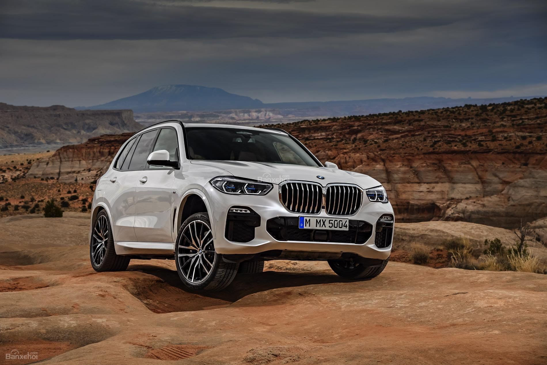 Đánh giá xe BMW X5 2019: Mâm bánh của xe có kích thước từ 18 đến 22 inch z