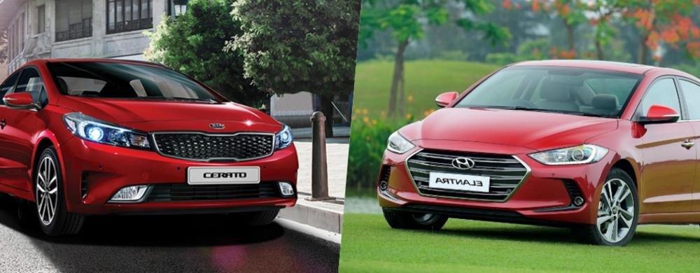 So sánh xe Hyundai Elantra 2.0AT 2018 và Kia Cerato 2.0L 6AT 2018 4.