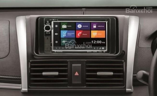 Xe được trang bị hệ thống thông tin giải trí Toyota Telematics.