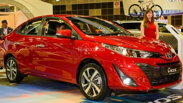 Toyota Vios 2018 sắp bán tại Việt Nam khác gì phiên bản hiện hành về thiết kế.