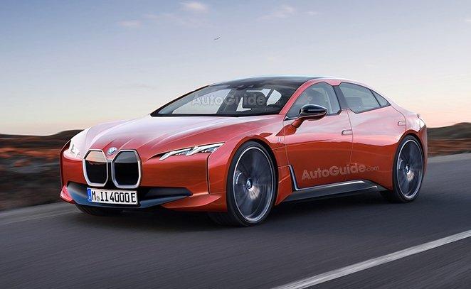 Ảnh dựng của BMW i4 z