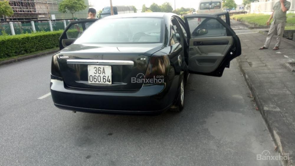 Bán ô tô Daewoo Lacetti 2004 màu đen 5 chỗ, biển Thanh Hóa, xe chất giá rẻ (4)