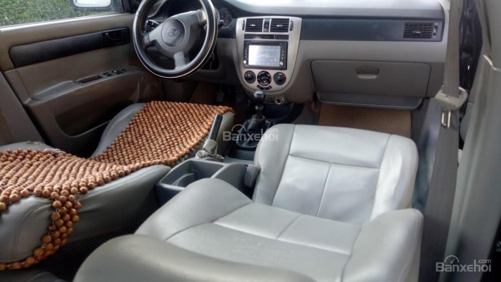 Bán ô tô Daewoo Lacetti 2004 màu đen 5 chỗ, biển Thanh Hóa, xe chất giá rẻ (5)