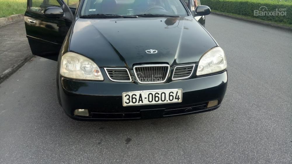 Bán ô tô Daewoo Lacetti 2004 màu đen 5 chỗ, biển Thanh Hóa, xe chất giá rẻ (10)