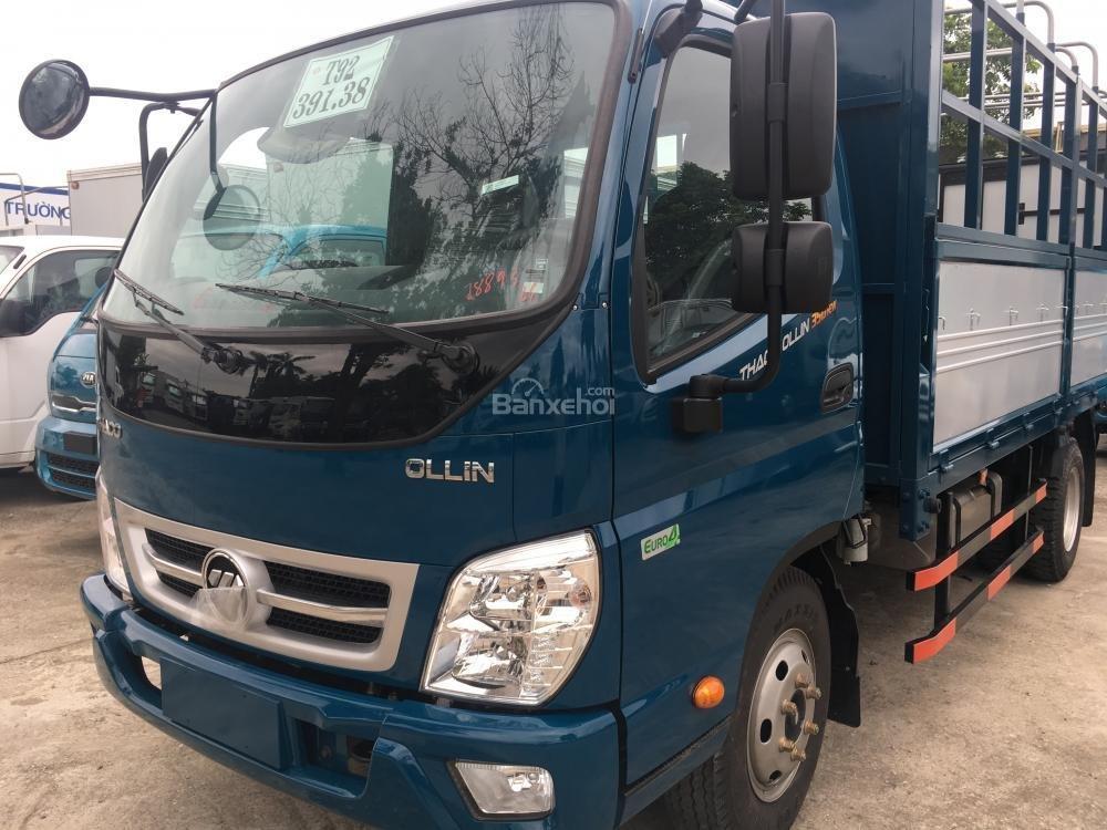 Liên hệ 0938.907.243 - Bán ô tô Thaco Ollin 350 - E4 đời 2018, màu xanh lam, giá cạnh tranh-0