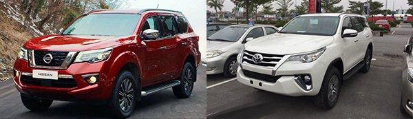 So sánh Nissan Terra 2018 và Toyota Fortuner 2018: Liệu tân binh có làm nên chuyện?.
