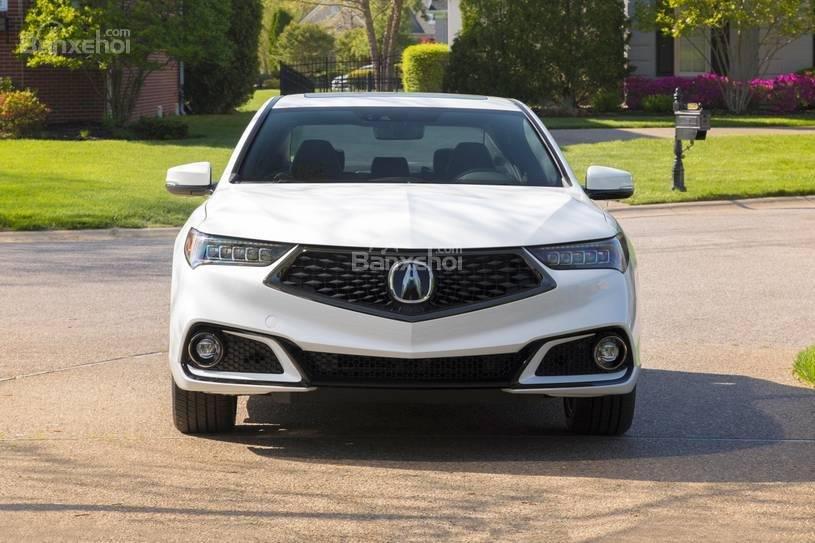 """Đánh giá xe Acura TLX 2018: Lưới tản nhiệt màn chắn """"xấu xí"""" đã biến mất z"""