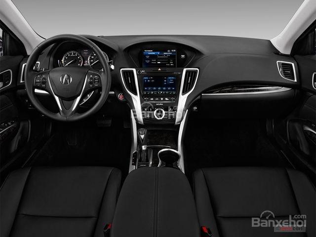 Đánh giá xe Acura TLX 2018: Bảng táp-lô không nổi bật nhưng có chất liệu cao cấp z