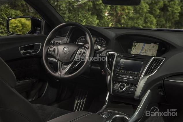 Đánh giá xe Acura TLX 2018: Xe giờ đã hỗ trợ Apple CarPlay và Android Auto z