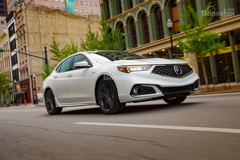 Đánh giá xe Acura TLX 2018: Thay đổi ít nhưng đáng giá z