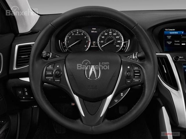 Đánh giá xe Acura TLX 2018: Vô-lăng của xe z