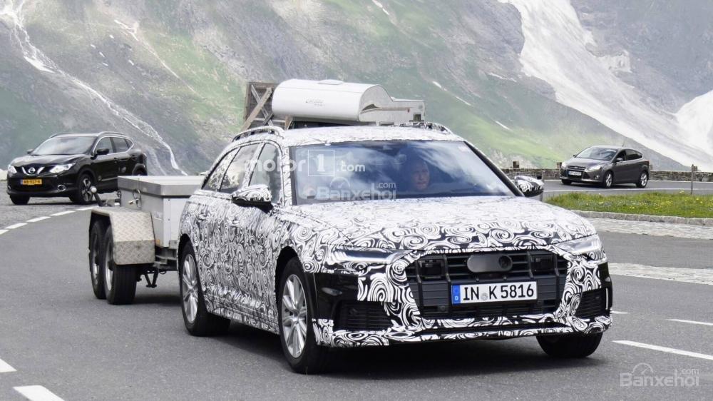 Audi A6 Allroad 2020 lần đầu xuất hiện.