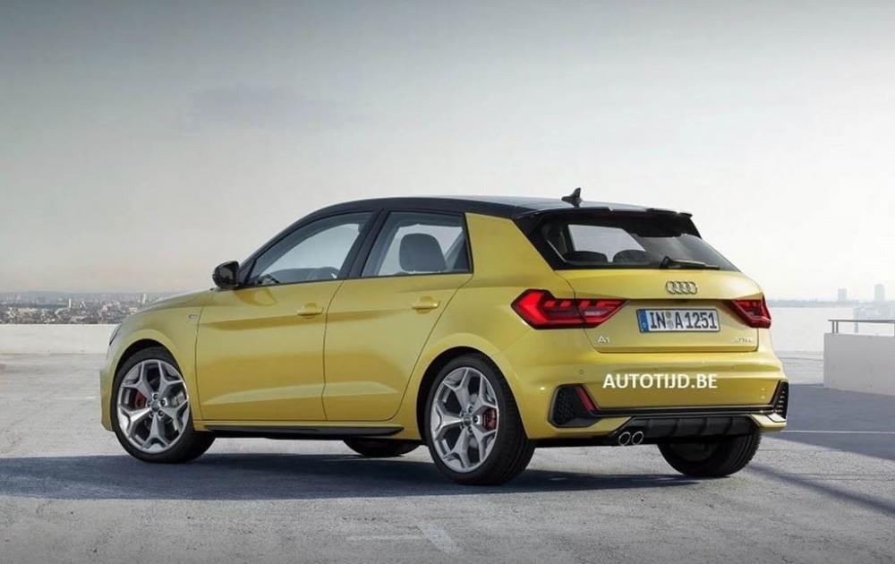 Audi A1 2019 lộ diện, sẵn sàng đấu với Mercedes-Benz A-Class 4.
